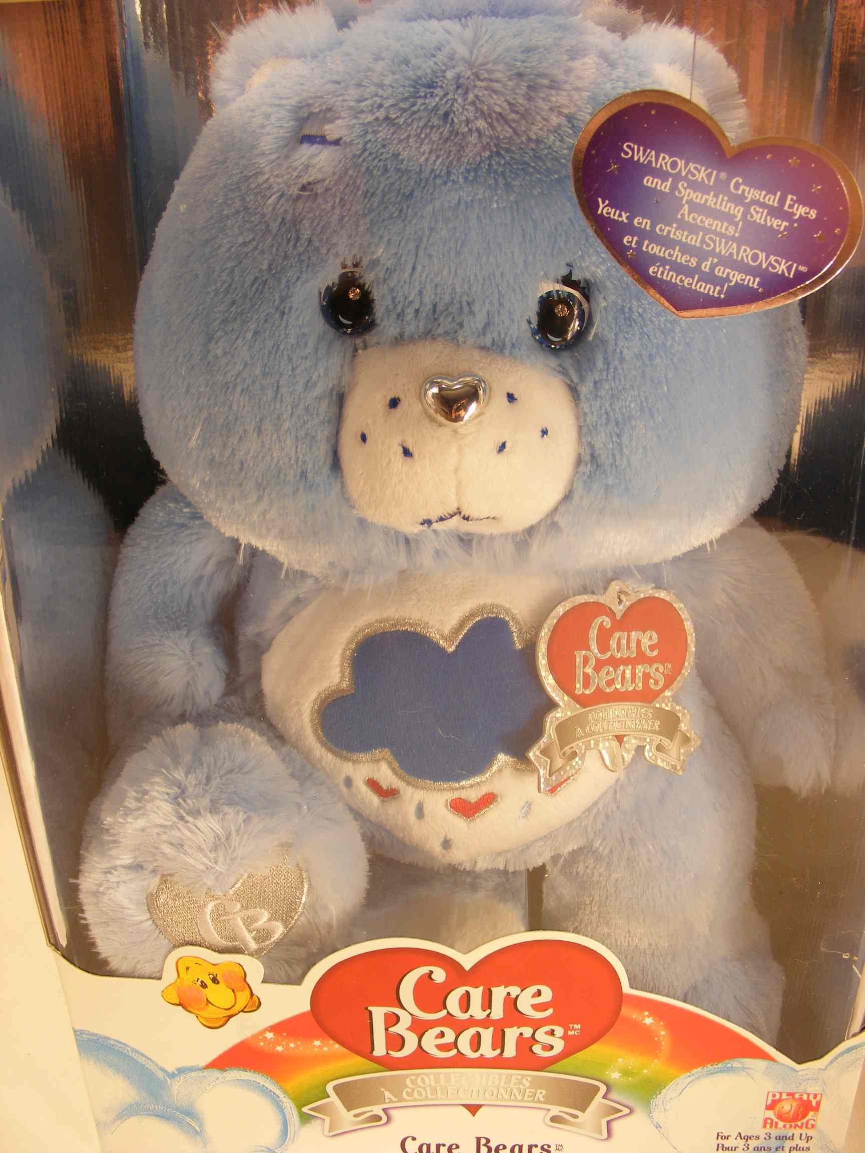 25TH ANNI CRYSTAL EYES GRUMPY CARE BEARS V.RARE