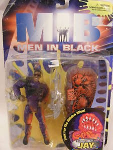 MOC MEN IN BLACK FLAME-BLASTIN JAY FIGURE MIB