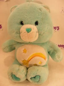 "MODERN 12"" WISH CAREBEAR CARE BEARS"