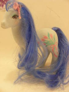 VINTAGE MY LITTLE PONY SHS FLOWER BURST PONY 80S MLP