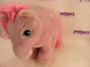 VINTAGE PLUSH LICKETY SPLIT MY LITTLE PONY 80S MLP