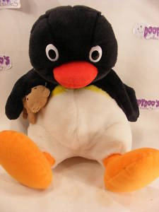 "12"" TALKING PINGU PLUSH TOY"