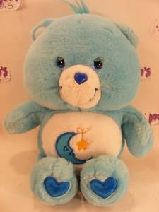"MODERN 12"" BEDTIME CAREBEAR CARE BEARS"