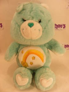 "MODERN  20TH ANNI 12"" WISH CAREBEAR CARE BEARS"