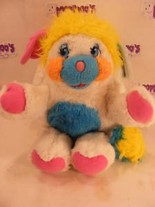"VINTAGE 12"" PUFFBALL POPPLE 80S POPPLES"