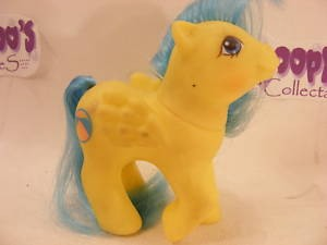 VINTAGE 80'S MY LITTLE PONY BABY BEACHBALL