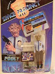 VINTAGE GERRY ANDERSONS SPACE PRECINCT 2040 CAPTAIN POD