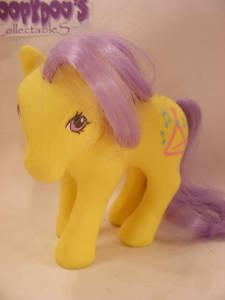 VINTAGE MY LITTLE PONY MUSIC TIME PONY 80S MLP
